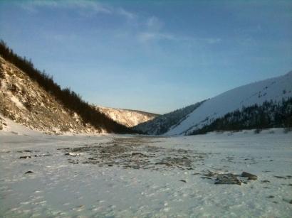 Зимник по реке