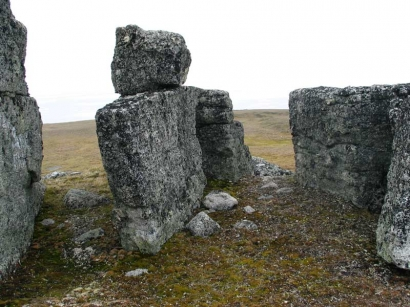 Юг полуострова Кигилях. Кигиляхи