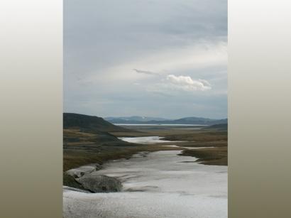 Снежник в долине ручья Каньон