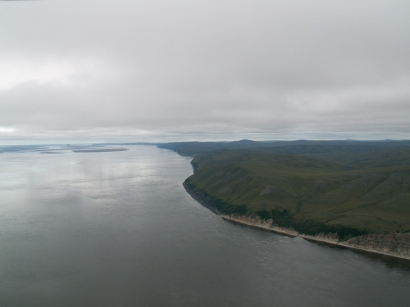 Правый берег Лены