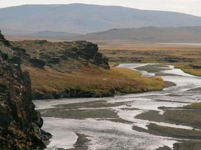 Окрестности Тикси, ручей Каньон