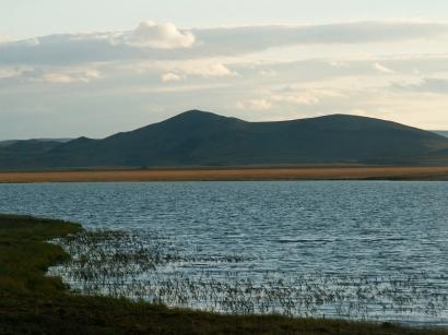 Озеро в районе полярной станции Тикси