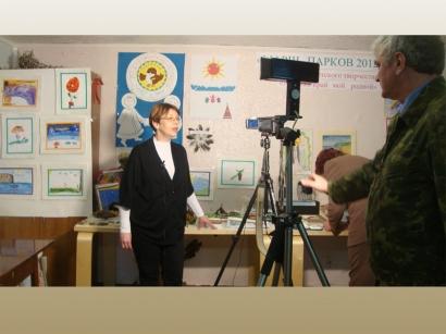 Открытие выставки детского творчества