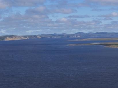 Вид с острова Столб