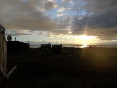 Закат у моря Лаптевых