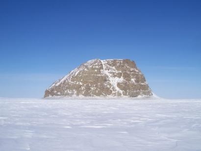 Остров Столб зимой