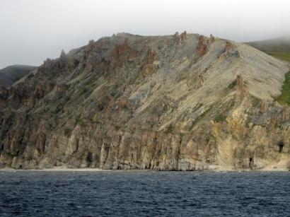 Скалистые горы реки Лены