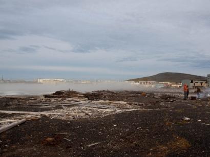 Туман над заливом Булункан_2