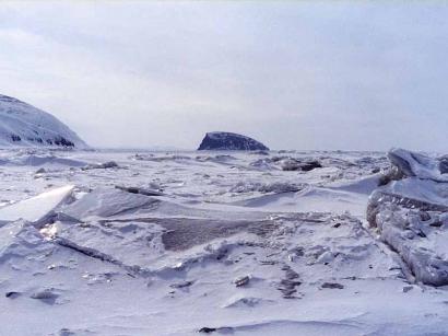 Дельта Лены, остров Столб