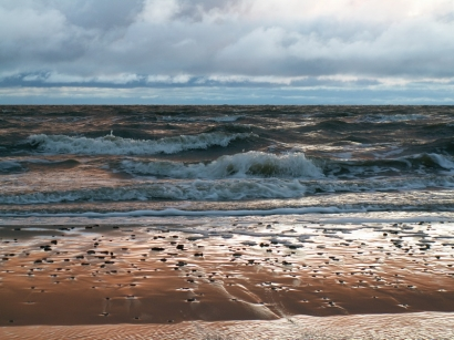 Западный берег полуострова Буор-Хайа