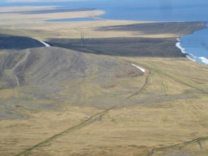 Западный берег залива Неелова