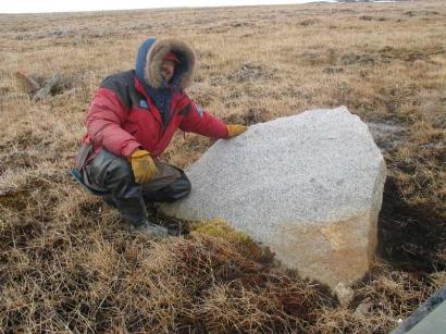 Камни у подножия горы Хаптагай-Тас