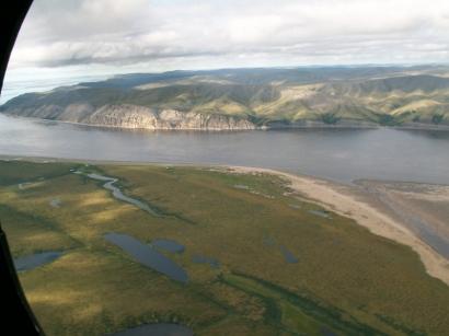 Урочище Юрюнг-Кысама (правый берег Лены)