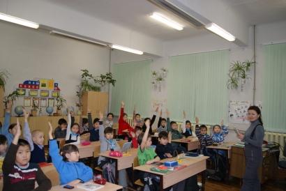 Кинолекторий в Тиксинской СОШ №1