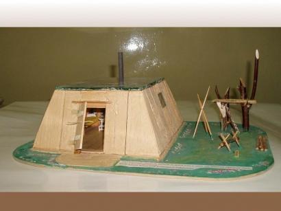 Традиционный северный балаган